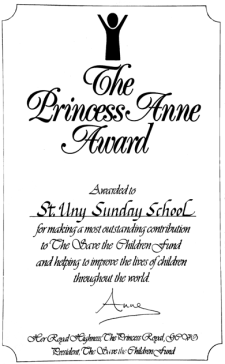 Princess Anne Award